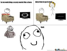 Rage Comics Scary Movie Memes. Best Collection of Funny Rage ... via Relatably.com