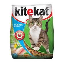 """Сухой корм <b>Kitekat</b> """"<b>Улов рыбака"""" для</b> кошек, 350 г (1144592 ..."""
