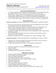 excavator mechanic resumes st person resume template example resume objective resume and sample resume resume example