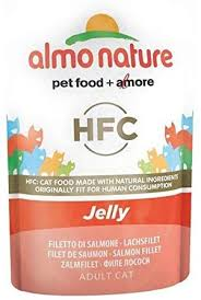 6X <b>Almo Nature Cat</b> Pouch <b>Classic</b> in Jelly Salmon 24 x 55g ...