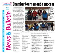 special sections chamber newsletter 2016