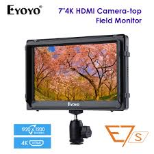 4K monitor <b>Eyoyo</b> E5 <b>5 Inches HD</b> 1080P Field IPS Video Monitor ...