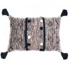 <b>Подушка декоративная с помпонами</b> и кисточками, Tkano купить ...