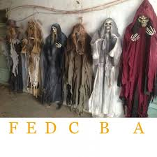 5 Feet 160cm <b>Halloween Hanging Ghosts Haunted</b> House Escape ...