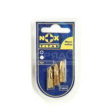 <b>Набор бит Nox Titan</b> 556612 Pz 2, 25 мм, 3 шт в Белгороде ...