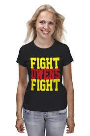 <b>Футболка классическая Fight</b> Owens <b>Fight</b> (WWE) #651673 ...
