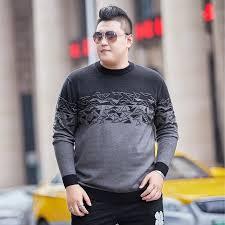<b>Large Size</b> 4XL 5XL 6XL o Neck Long Sleeve <b>Men's Sweaters</b> 7XL ...
