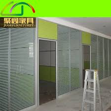 custom office furniture 80 double tempered glass s cheap office partitions