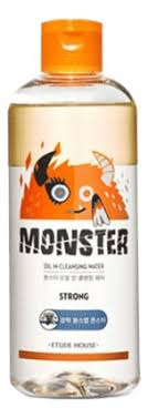 <b>Двухфазная очищающая вода</b> Monster Oil Cleansing Water Etude ...