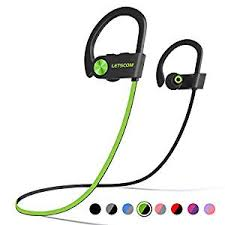 LETSCOM <b>Bluetooth Headphones</b> IPX7 Waterproof, <b>Wireless Sport</b> ...