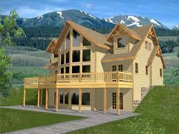 ountain House Plans   Great House DesignMountain Home Plan  H