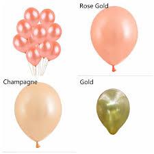 <b>10pcs</b>/<b>20pcs</b> Kids Favor Baby Shower Inflatable Toys <b>Rose Gold</b> ...