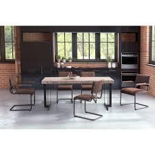 Home, Furniture & DIY Set of <b>2</b> Modern <b>Cantilever Dining Chairs</b> ...