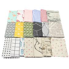 Hongbo <b>1 Pcs</b> Plaid Cotton <b>Placemat</b> Japanese Fashion Style ...
