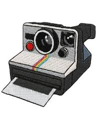 Retro <b>Camera patch</b>. Vintage photography is so on trend. A Polaroid ...