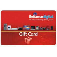 Reliance Digital Gift Card India