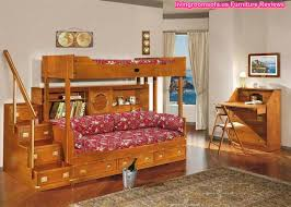wooden luminous bunk bed cool kids bedroom awesome design kids bedroom