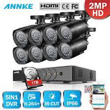 <b>ANNKE 5in1 1080P</b> Lite 8CH DVR 1TB 2000TVL 2MP CCTV ...