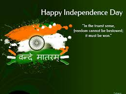 346 words essay on our independence day to