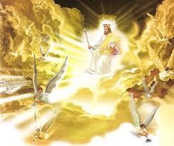 Resultado de imagem para JESUS VINDO NAS NUVENS DO CÉU
