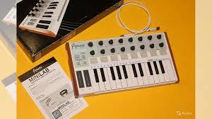 Миди-<b>клавиатура Arturia MiniLab</b> купить в Санкт-Петербурге на ...