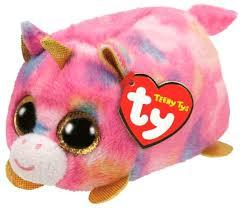 Мягкая <b>игрушка</b> TY Teeny tys Единорог <b>Star</b> 5 см — купить по ...