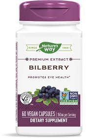 <b>Bilberry Extract</b> / 60 Veg Caps - Nature's Way®.
