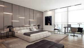 trendy bedroom decorating ideas home design:   modern bedroom design platform bed