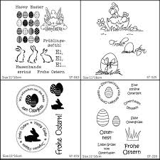 <b>ZhuoAng</b> Beautiful <b>Easter</b> Eggs Rabbit <b>Clear</b> Stamps For DIY ...