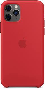Купить <b>чехол Apple</b> Silicone для iPhone 11 Pro красный в Москве ...