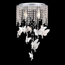 crystal angel girls room ceiling lamps romantic kids room ceiling lamp bedroom study room baby room ceiling light fixtures baby room lighting ceiling