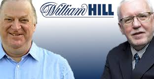 UK bookies William Hill are poised to announce their selection to replace outgoing CEO Ralph Topping (pictured far right). On Saturday, This Is Money ... - william-hill-james-henderson-ralph-topping