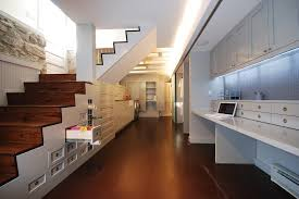 under stair storage ideas further bedroom interior design moreover acoustic wood slat wall as well white area homeoffice homeoffice interiordesign understair