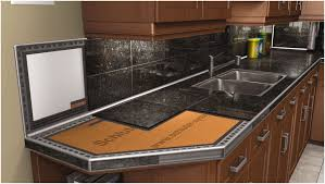 Granite Tile Kitchen Kitchen White Cabinets Image Of Installing Granite Tile Granite