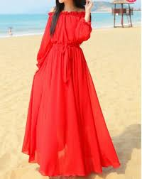 New <b>women's fashion long maxi</b> sleeve dress