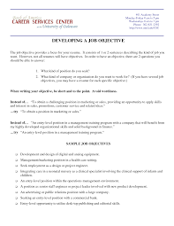 a great resume objective statement cipanewsletter examples of resumes objectives getessay biz