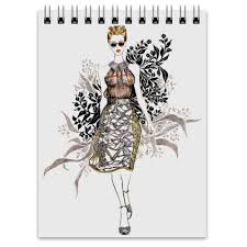 <b>Блокнот</b> Abstract <b>fashion</b> #474962 от katerinaonuchina