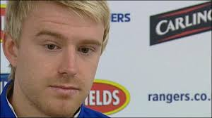 Rangers defender Steven Smith. Please turn on JavaScript. Media requires JavaScript to play. - _47756954_steven_smith_300410_512