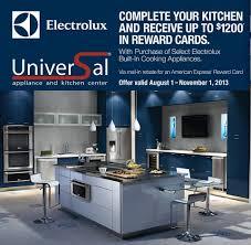Universal Kitchen Appliances Universal Appliance And Kitchen Center Blog Save On Electrolux