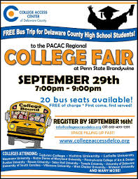 ms b the good news college access center college fair college access center college fair click flyer to enlarge