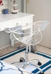 acrylic office chair acrylic desk chair girls room acrylic office chair