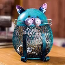 Kitten Piggy Bank Coin Bank Practical Sculp <b>Home Decor</b> | Ремесла ...