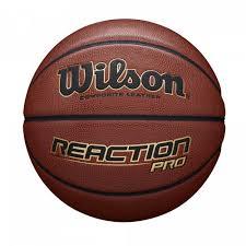 <b>Мяч баскетбольный Wilson REACTION</b> PRO 295 BSKT SZ7 SS20 ...
