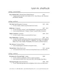 copywriter resume sample ryan shattuck writing resume cover letter gallery of sample ad copywriter resume