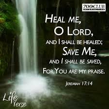 Jeremiah 17:14 faith Bible scripture verse. Spiritual healing and ...
