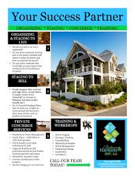 do plan your work and work your plan realtor flyer