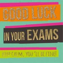Resultado de imagen de good luck in your exams