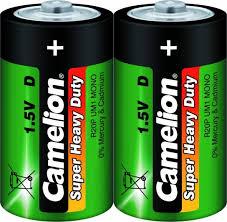 <b>Батарейка</b> солевой R20 (<b>D</b>. 373) 1.5В <b>CAMELION</b> - купить, цены ...