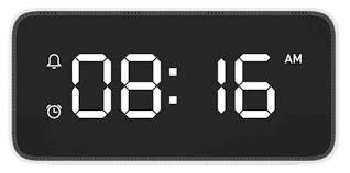 <b>Часы</b> настольные <b>Xiaomi</b> Xiao aI <b>smart alarm</b> clock — купить по ...