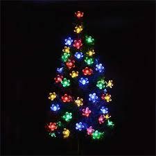 LED Solar <b>String</b> Light 50Leds <b>Flower</b> Waterproof <b>String Fairy</b> ...